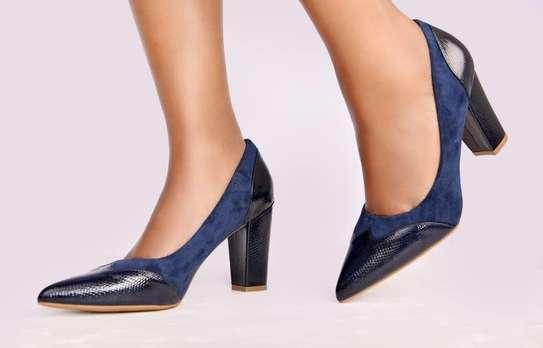 Chunky closed heels image 5