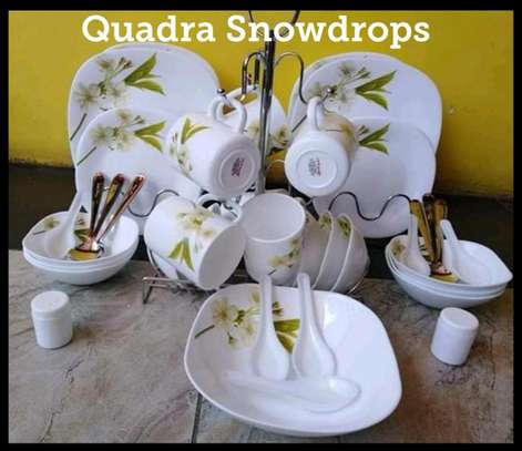 39pcs Quadra Dinner sets image 1