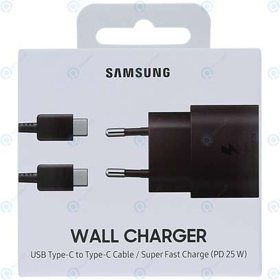 Original Samsung Super Fast Charge 25W UK Plug Travel Adapter with Type-C to USB C Cable for Samsung S20/S20+/S20 Ultra,S21/S21+/S21 Ultra Note 20/Note 20 Ultra image 9