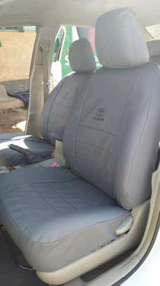 GREY CAR SEAT COVERS image 8