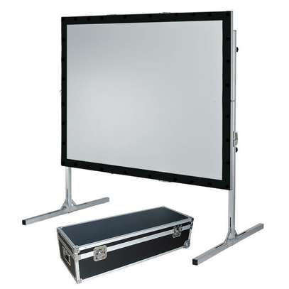 "REAR SCREEN 72"" X 96"" For Hire."