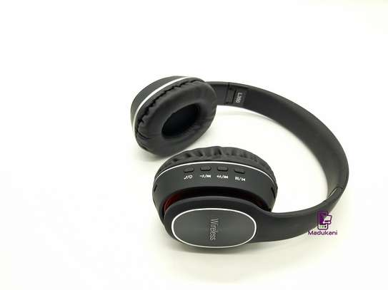 L350 Wireless On-Ear HD Extra BASS Bluetooth Headphones image 2