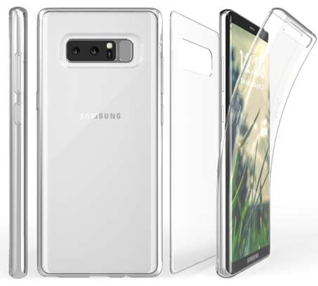 Clear TPU Soft Transparent case for Samsung Note 8 image 4
