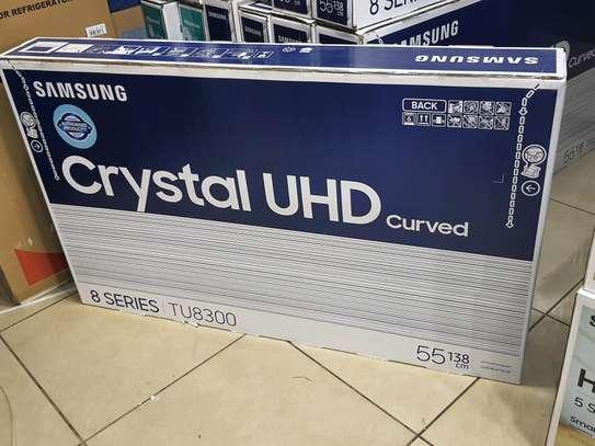 Latest Samsung Curved 55 Crystal 4K Series 8 Model TU8300 image 2