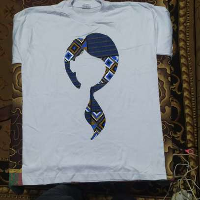 African Lady with Ponytail T-Shirt