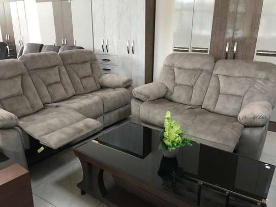 Affordable fabric recliner sofa sets image 4