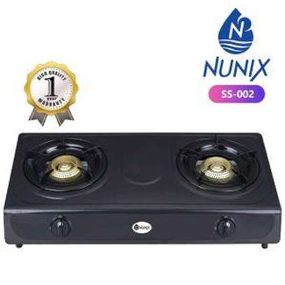Nunix Stainless Steel Table Top Double Burner Gas Stove-Gas Cooker image 1