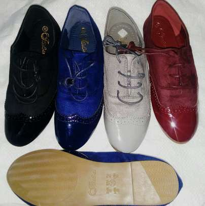 New Oxford Shoe Lace Up