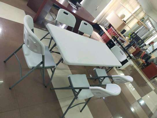 Foldable Dining Set image 1