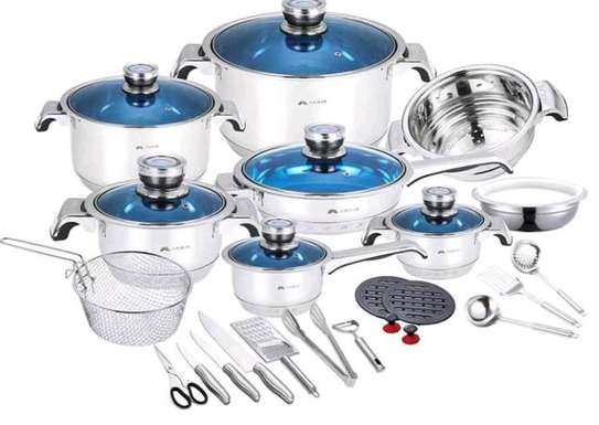 25 pieces stainless steel Cookware set