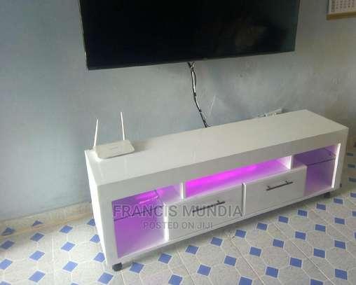White Tv Stand image 2