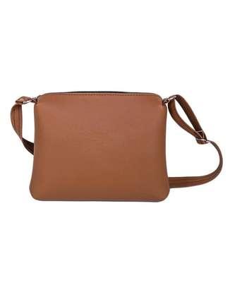 Ladies sling bag(brown) image 1