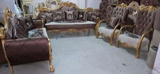 Golden frames Antique sofas (9-12 seaters) image 4