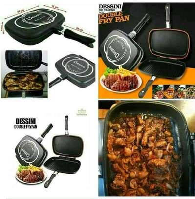 Dessini double sided grill pan image 2