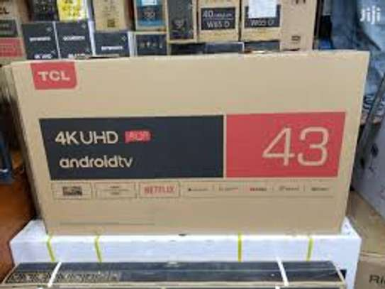 TCL 43 Inches 4K Uhd Smart Android image 1