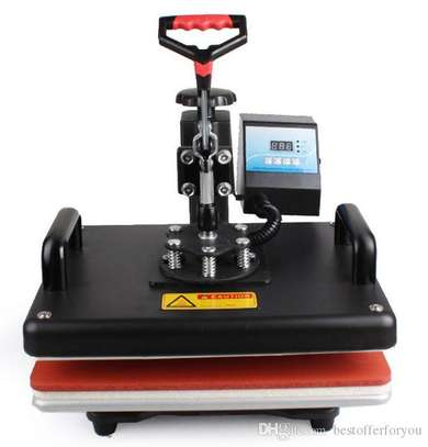 8 in 1 Combo Heat Press Machine Sublimation Heat Press Heat Transfer Printer For Mug/Cap/T shirt image 1