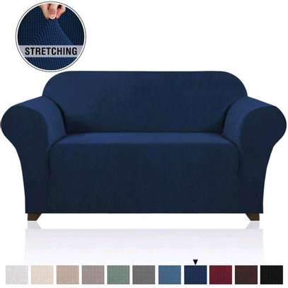Generic Strechable Sofa Seat Cover 7 Seater (3,2,1,1) image 1