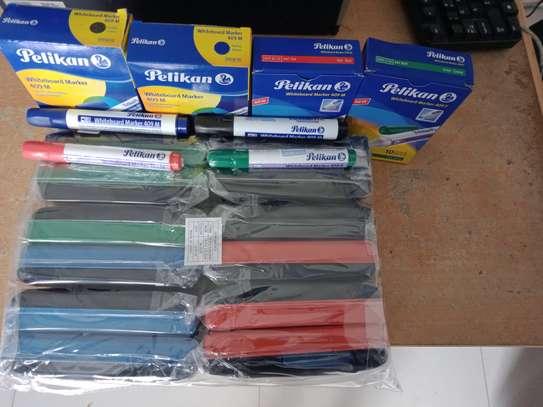 Whiteboard Dusters & Pelikan Marker Pens image 1