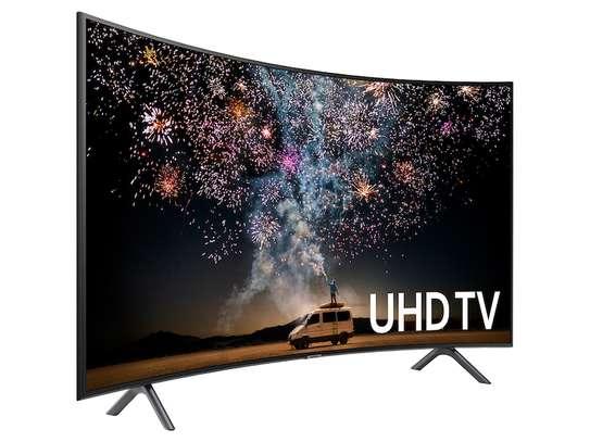 Samsung 55 Tu8300 smart curved 4k tv image 1
