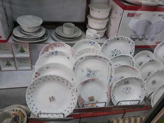 Redberry plate/dinner  plate/ceramic plate image 1