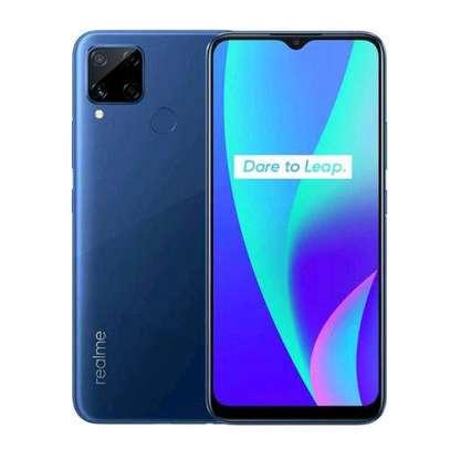 Realme C15, 6.5, 4 GB + 128 GB Micro SDXC (Dual SIM) - Blue image 1
