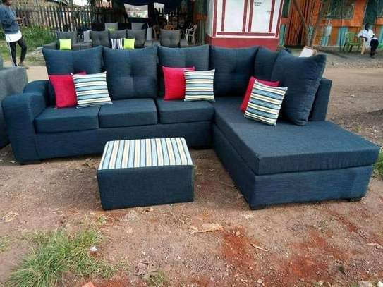 L-Shape Sofa (6 Seater) image 1