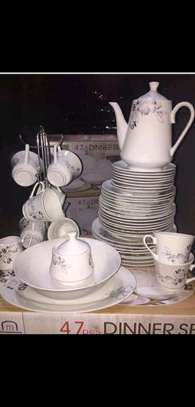 47pcs dinner set/ceramic dinner set image 1