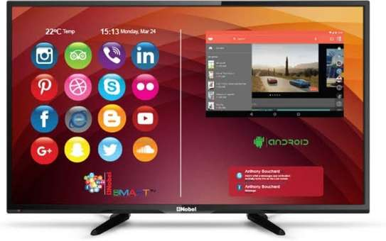 Nobel 50 inches digital smart android 4k TV image 1