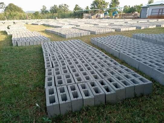 Concrete blocks image 5