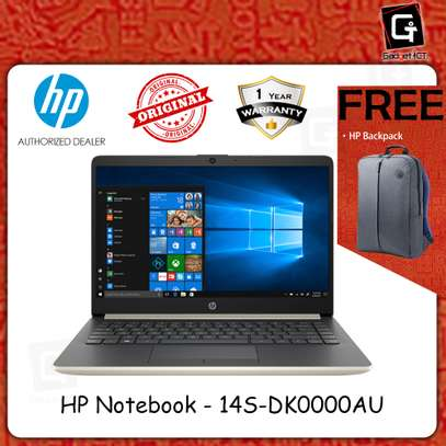 Hp Notebook 14S AMD A6 image 2