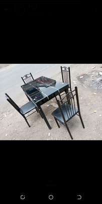 Home food dining table with chairs image 1
