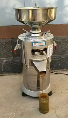 Kitchen Automatic Vertical Peanut Sesame Almond Butter Grinding Machine Price Cashews Butter Making Processing Equipment image 2