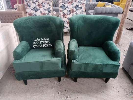One seater sofas/sofas/modern single seater sofas/green sofas/ image 1
