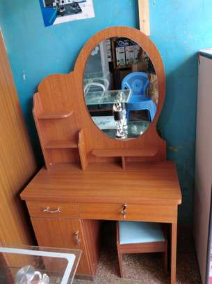 Brown dressing table