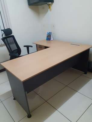 L-Shaped Executive Desk 1.6Meter Ksh. 23,500.00 With Free Delivery image 8