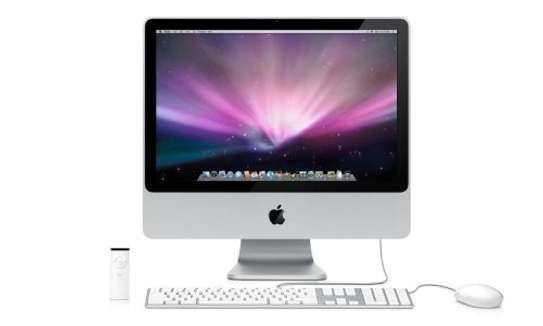 """Apple iMac A1224 20"""" All-in-One PC Intel Core 2 Duo 2.00GHz 2GB RAM 250GB HDD"""