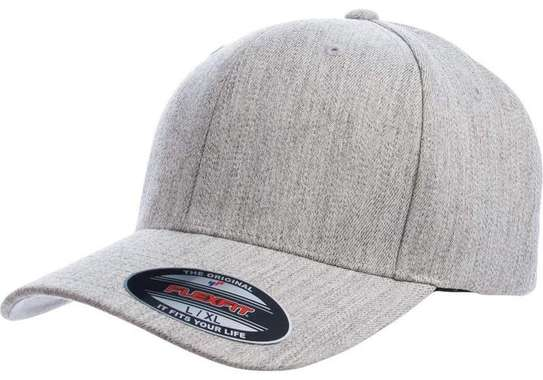 Flexfit Fitted Curved Peak-Heather Red image 1
