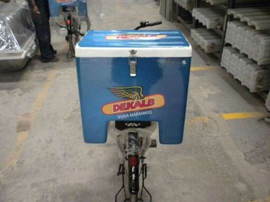 Fibreglass Courier / Delivery Boxes For Motorbikes