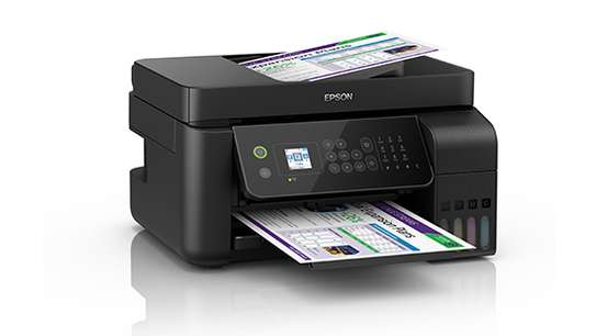 Epson L5190 Wi-Fi All-in-One Ink Tank Printer with ADF image 2