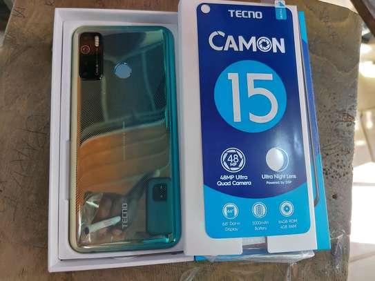 Tecno Camon 15, 6.6, 64GB + 4GB (Dual SIM), 48M AI Quad Camera image 1