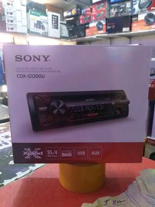 Sony CDX-G1200U Car Radio Stereo CD player with USB image 1
