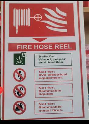 Fire Action Plan Boards. image 2