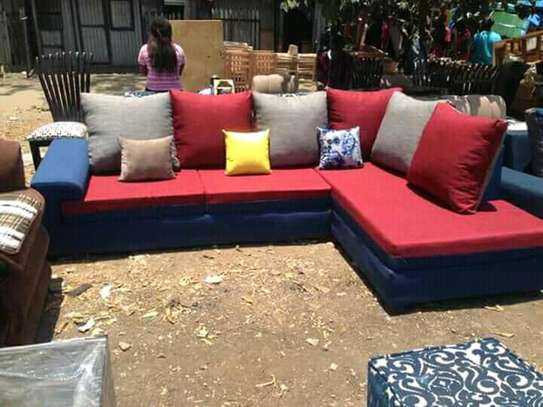 6-seater l shaped sofa