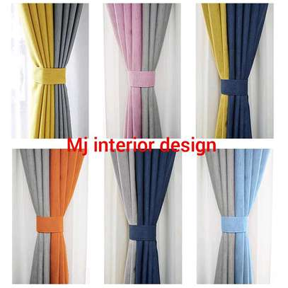 PLAIN  LINEN CURTAINS image 1