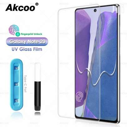 UV Full Adhesive Tempered Glass film for Samsung Galaxy Note 20/Note 20 Ultra Screen Protector image 3