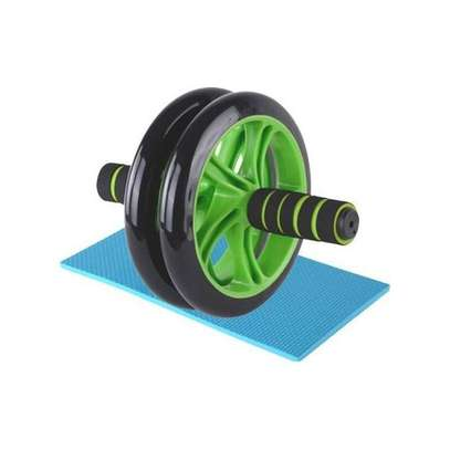 AB Wheel Abs Roller Workout Arm And Waist Fitness Exerciser Wheel (Free Knee Mat) image 1