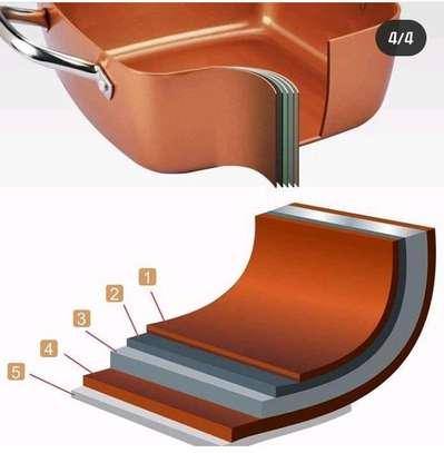 Copper chefs pan image 1