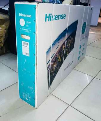 55 inches Hisense smart curved tv