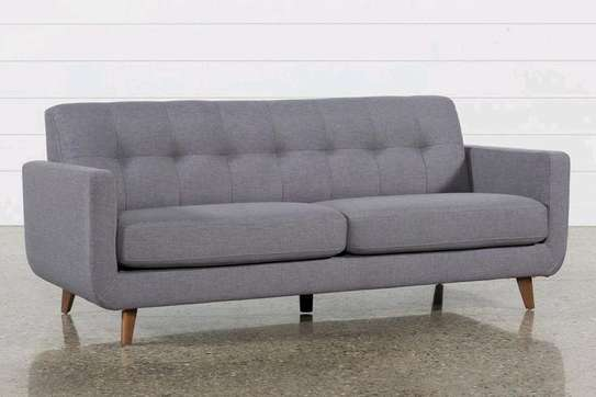 Latest grey three seater tufted sofas/sofas for sale in Nairobi Kenya image 1