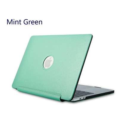 Macbook case cover Siamese PU silk grain 11.6 12 13.3 inch Air Retina Pro image 4